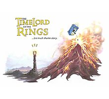 TimeLord of the Rings Photographic Print