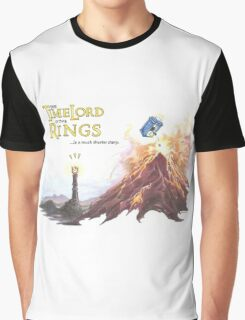 TimeLord of the Rings Graphic T-Shirt