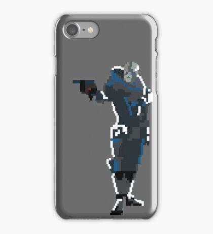 Retro Garrus Vakarian iPhone Case/Skin