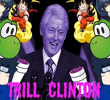Trill Clinton by lucidxlarry