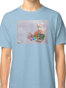 Happy Easter Bunnies Classic T-Shirt