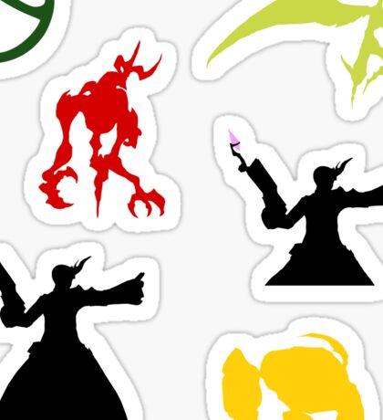 Summoner Egis Sticker Sheet Sticker