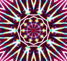 Neon Explosion Sticker