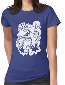Doodle of the day III Womens Fitted T-Shirt