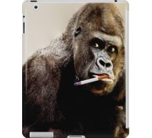 monkey smoking iPad Case/Skin