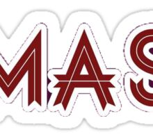 UMASS Sticker
