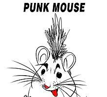 Punk Mouse Design by Vincent J. Newman
