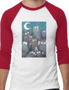 Lots of Cats Men's Baseball ¾ T-Shirt