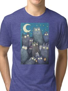 Lots of Cats Tri-blend T-Shirt