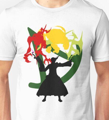Summoner Egis (Black Silhouette) Unisex T-Shirt