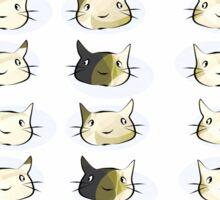 Four Kittens Sticker