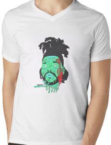 Creative Brie Mens V-Neck T-Shirt