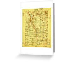 New York NY Moravia 144089 1902 62500 Greeting Card