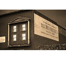 Elizabethton, Tennessee, Ghost Mural, 2008 Photographic Print