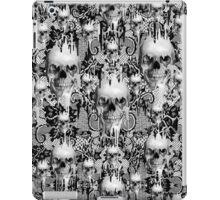 Victorian gothic lace skull pattern iPad Case/Skin