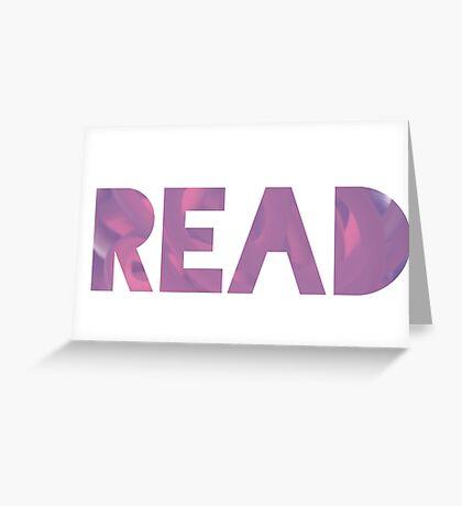 READ Greeting Card