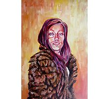 Lolo in Fur Photographic Print