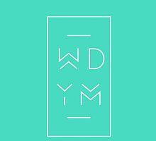 WDYM blue by lyricaldesigns
