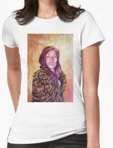 Lolo in Fur Womens Fitted T-Shirt