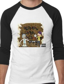 Rick & Morty - Get Schwifty! Men's Baseball ¾ T-Shirt