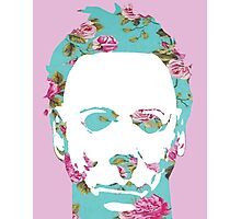 Halloween Floral Michael Myers Photographic Print