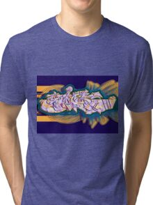 Graffiti SICK Tri-blend T-Shirt