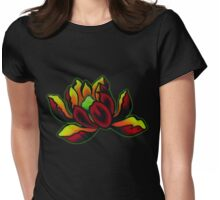 Blood Struck Lotus Womens Fitted T-Shirt
