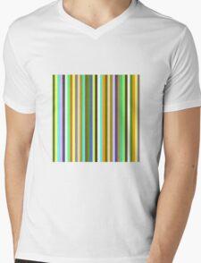 Ian's Stripey Yellow 2 Mens V-Neck T-Shirt