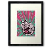 Hamster Lovin' Framed Print