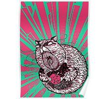 Hamster Lovin' Poster