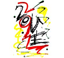 Love - Graffiti Design Photographic Print