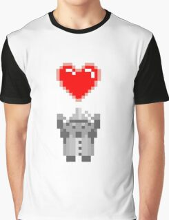 Found a Heart Graphic T-Shirt