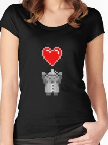 Found a Heart Women's Fitted Scoop T-Shirt