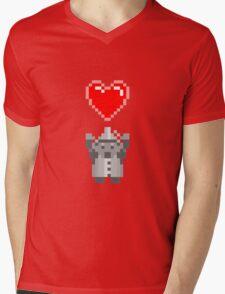 Found a Heart Mens V-Neck T-Shirt