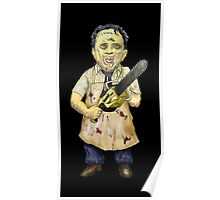Leatherface Caricature Poster