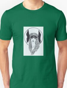 Valkyrie- Black and White T-Shirt