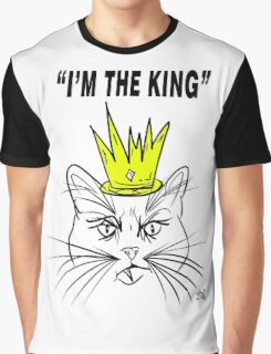 I'm The king - Cat Design Graphic T-Shirt