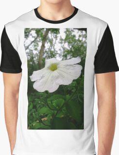 White flower . Graphic T-Shirt