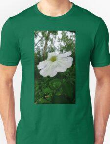 White flower . T-Shirt
