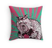 Hamster Lovin' Throw Pillow