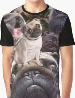 too much pug Graphic T-Shirt