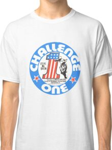 Vintage Challenge one Steve MC Queen Decal Classic T-Shirt