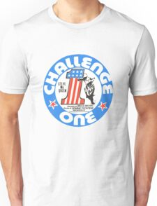Vintage Challenge one Steve MC Queen Decal Unisex T-Shirt