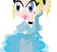 Princess Cinderella by megyumm