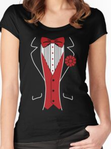 Tuxedo Women's Fitted Scoop T-Shirt