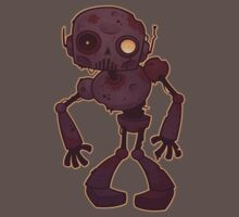 Rusty Zombie Robot  One Piece - Short Sleeve