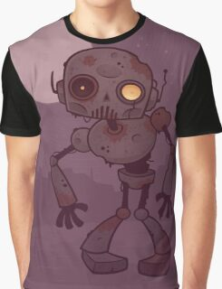 Rusty Zombie Robot  Graphic T-Shirt