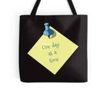 Memo: One Day At A Time: Realism Art Tote Bag