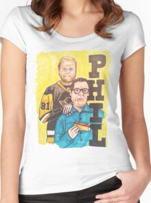 Phil! Women's Fitted Scoop T-Shirt