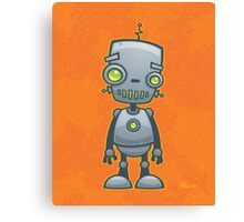 Silly Robot Canvas Print